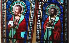 vitraux au plomb , restaurations