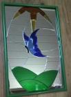 vitraux miroirs colles papillon