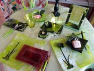 14.PISTACHE FLEUR - arts table