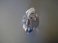 bague argent quartz