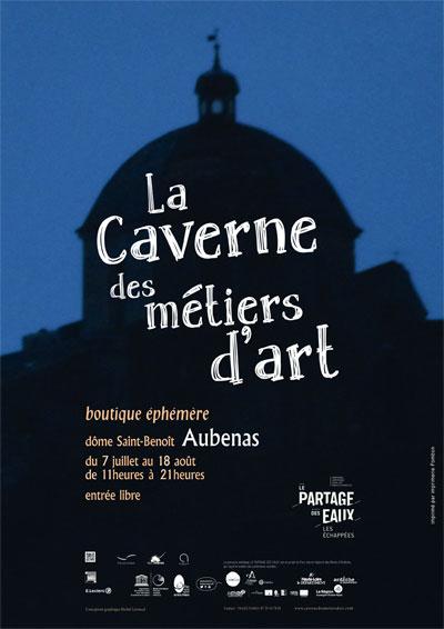Caverne des métiers d'art -boutique éphémère à Aubenas en Ardèche