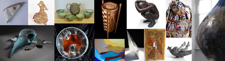 Exposants caverne des métiers d'art d'Ardèche Aubenas