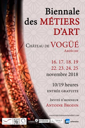 3ème biennale des Métiers d'art au Château de Vogüé