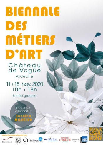 4e biennale des métiers d'art au Château de Vogüé